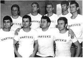 Slika 5. TAK Varteks iz Varaždina 1968/69. godine