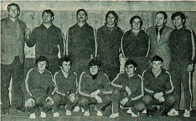 Slika 9. Hrvački klub Gavrilović iz Petrinje 1970. godine