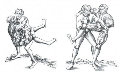 Slika 13. Hrvači (srednji vijek)