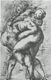 Slika 14. Hrvači (Michelangelo)