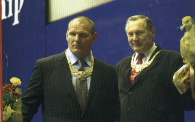 Slika 19. Aleksander Karelin (lijevo) i Aleksandr Vassilievitch Medved (desno)