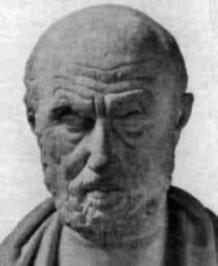 Slika 7. Hipokrat – otac medicine (u mladosti vozio je bojna kola i bavio se hrvanjem)