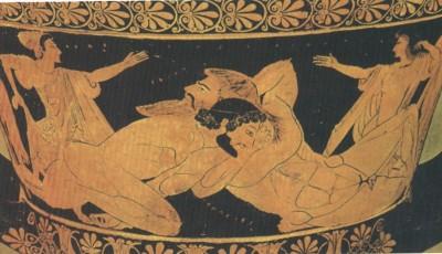 Slika 8. Borba Herakla i Anteja (Pariz, Muzej Luvre)